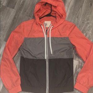 Color Block Rain Jacket